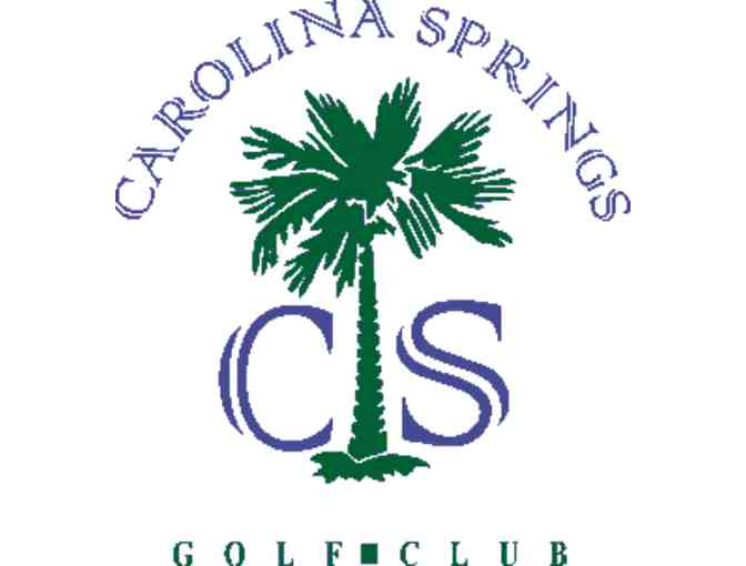 Carolina Springs Golf Club - One foursome with carts