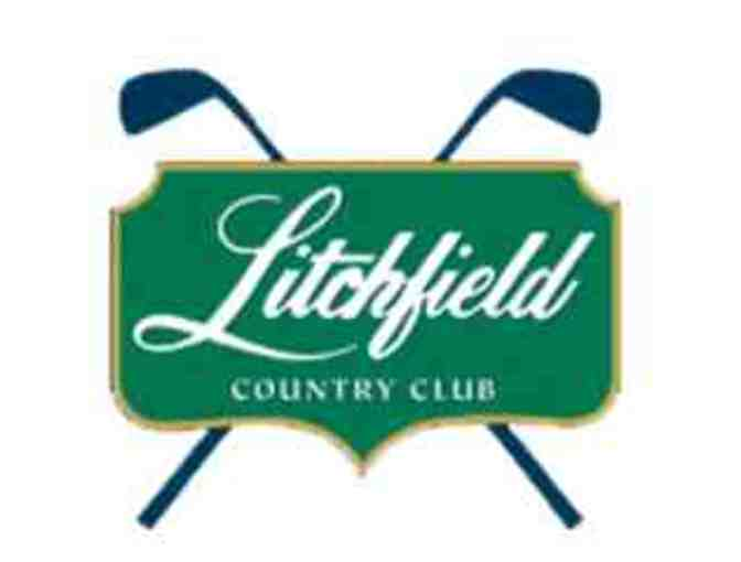 Litchfield Country Club - A foursome with carts