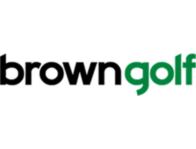 Brown Golf Management Clubs - One foursome with carts