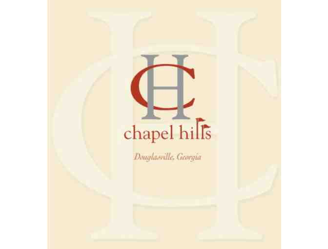 Chapel Hills Golf Club - One foursome with carts