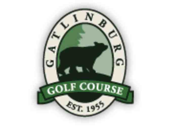 Gatlinburg Golf Course - One foursome with carts