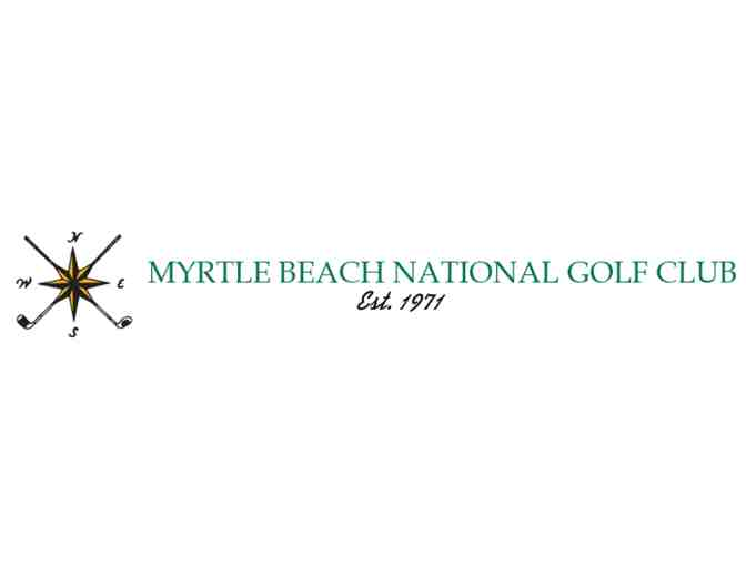 Myrtle Beach National Golf Club - South Creek Course -- A foursome with carts