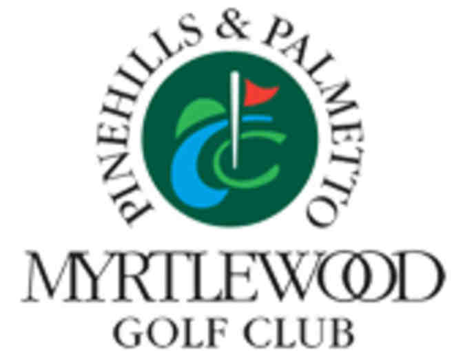 Myrtlewood Golf Club - Palmetto Course - One Foursome with carts