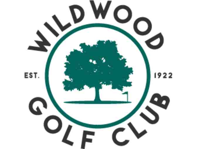 Wildwood Golf Club -- a foursome with carts