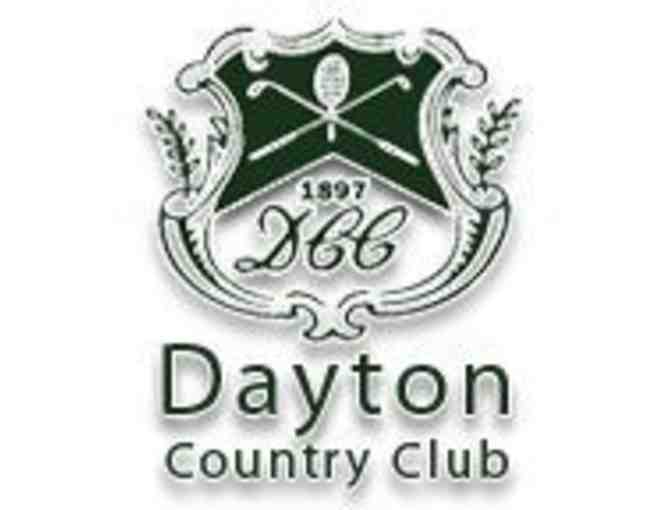 Dayton Country Club - One foursome with carts