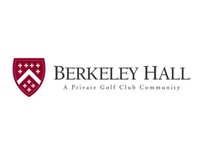 Berkeley Hall Club - a foursome