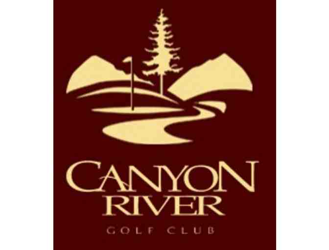 Canyon River Golf Club - One twosome with cart