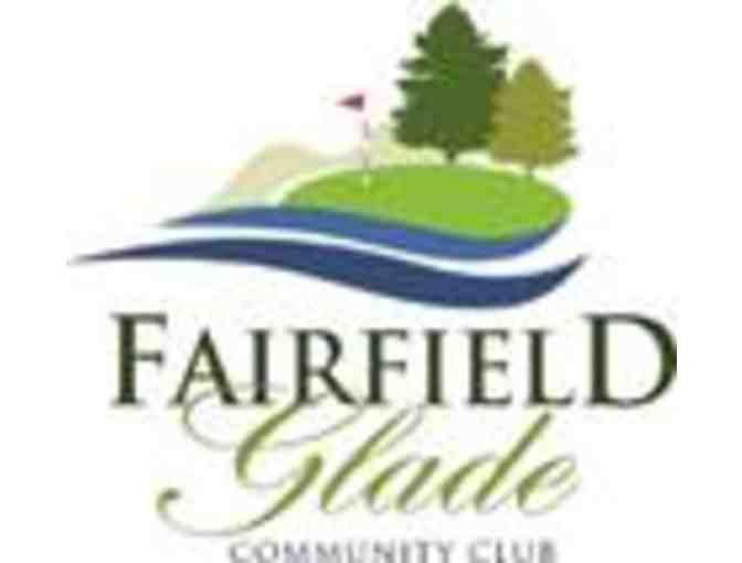 Fairfield Glade Community Club - One foursome with carts