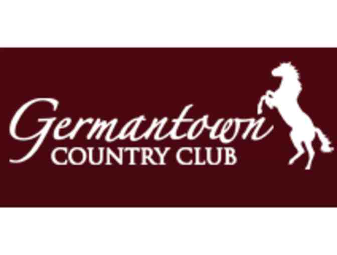 Germantown Country Club - One foursome with carts and practice facility