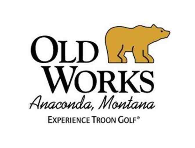 Old Works Golf Course - A foursome with carts