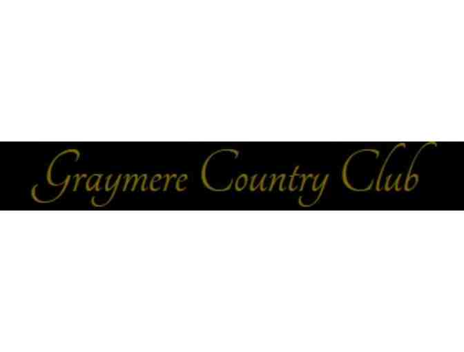 Graymere County Club - One foursome