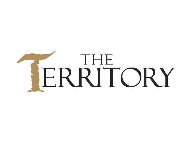 The Territory -- a foursome with carts
