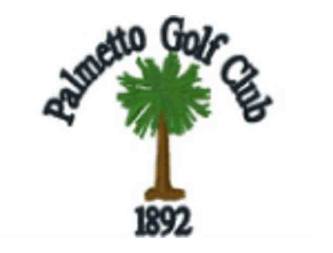 Palmetto Golf Club - One foursome with carts and range balls