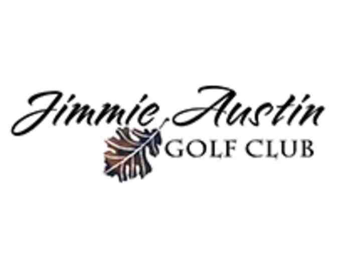 Jimmie Austin Golf Club -- golf for four including practice balls