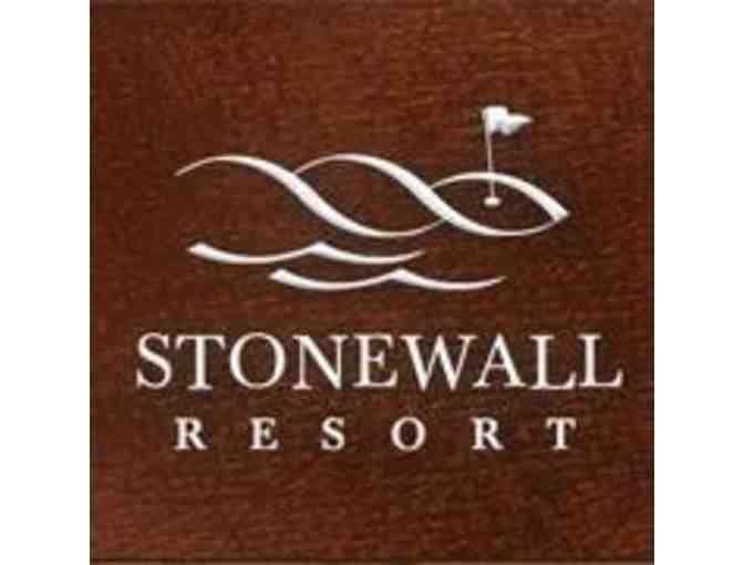 Stonewall Resort - One foursome with carts and driving range
