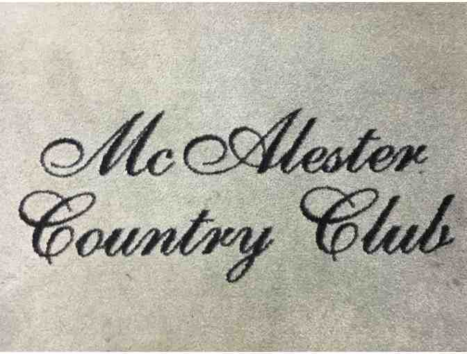 McAlester Country Club - One foursome with carts