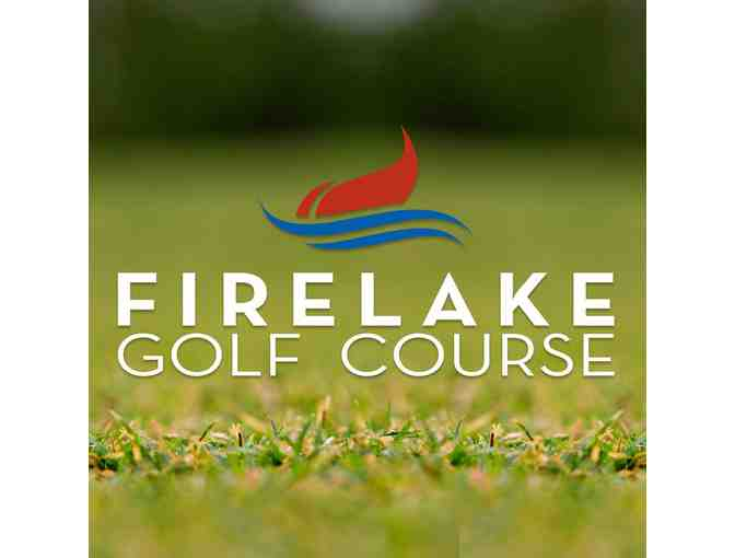 FireLake Golf Course - One foursome with carts