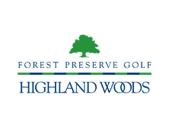 Highland Woods Golf Club - One foursome with carts