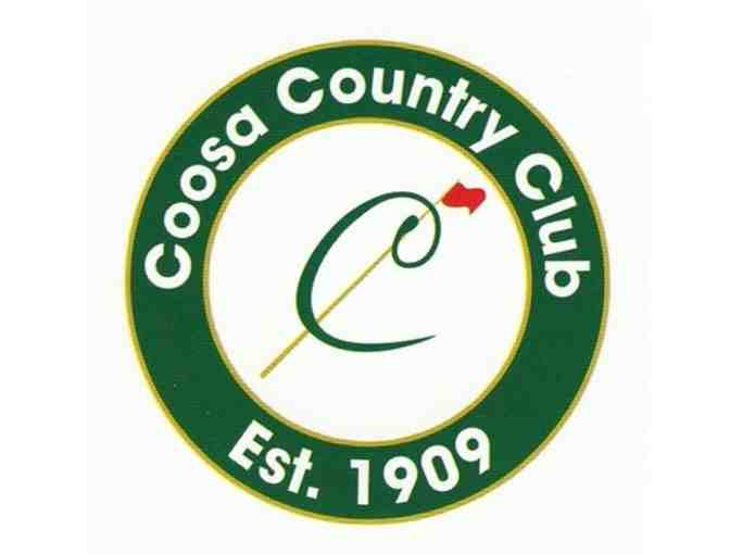 Coosa Country Club - One foursome with carts