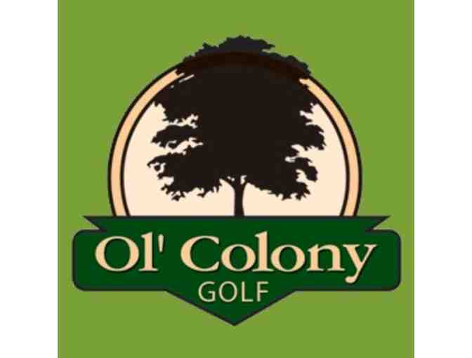 Ol' Colony Golf Course - One foursome with carts