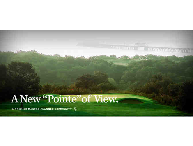 Chickasaw Pointe Golf Course - a foursome with carts