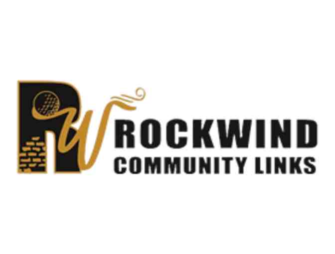 Rockwind Community Links -- a foursome with carts