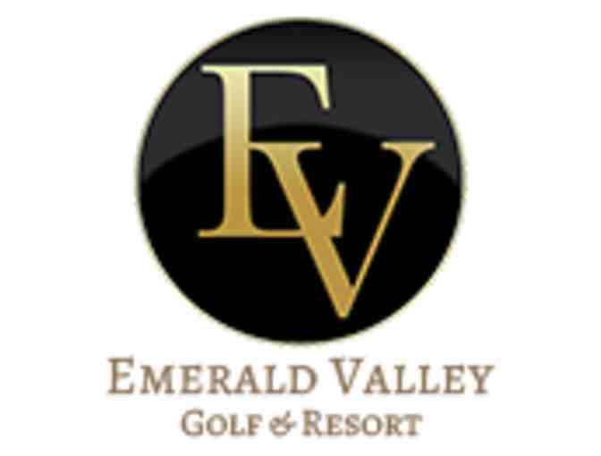 Emerald Valley Golf Club - Golf for two with cart