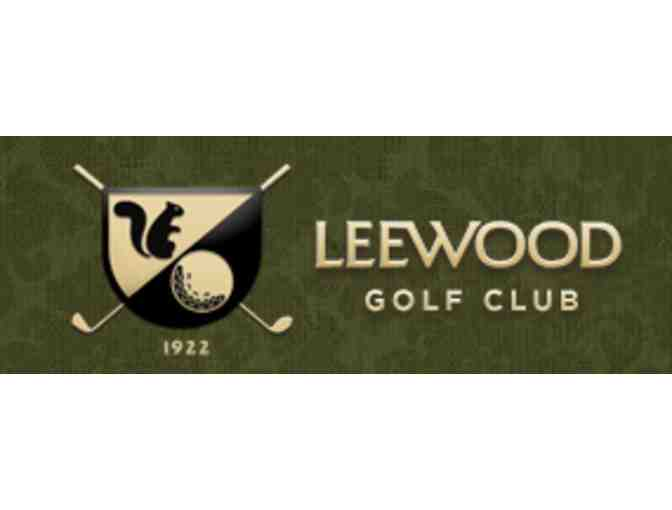 Leewood Golf Club - One foursome with carts and lunch