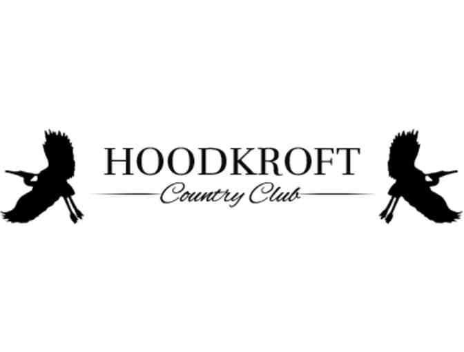 Hoodkroft Country Club - One twosome with cart