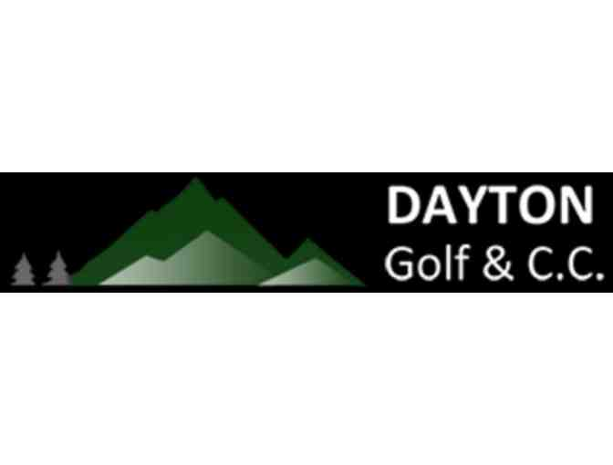 Dayton Golf & Country Club - One foursome with carts