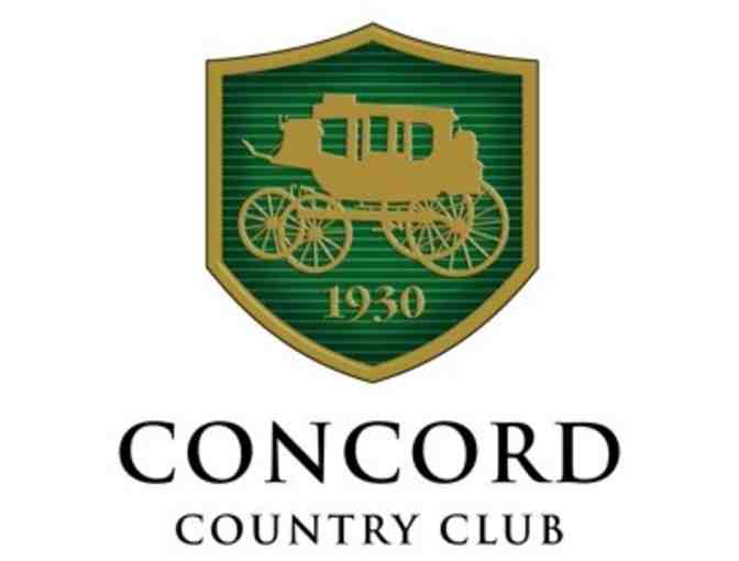 Concord Country Club - a foursome with carts