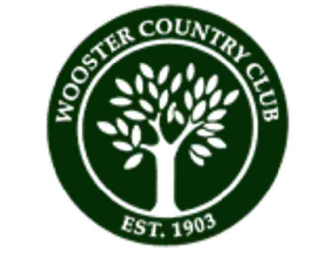 Wooster Country Club - One foursome with carts