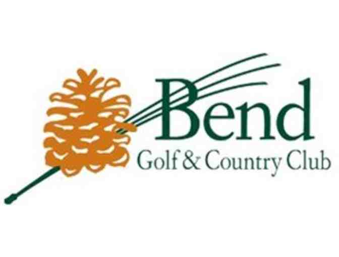 Bend Golf & Country Club - One foursome with carts