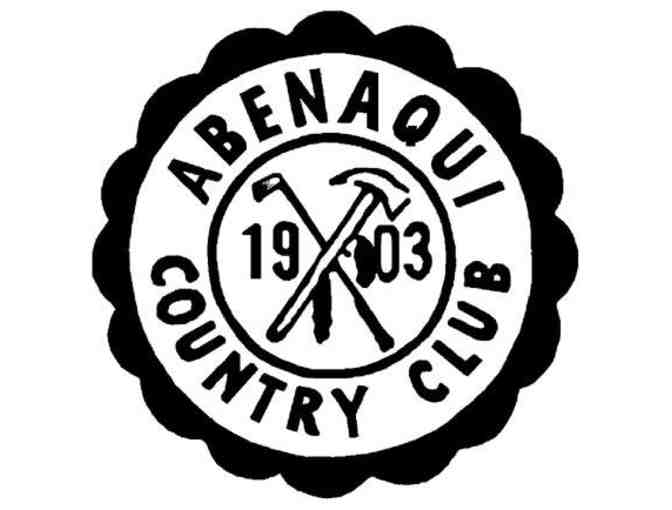 Abenaqui Country Club - One foursome with carts