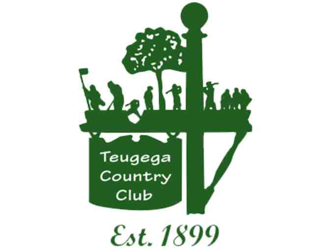 Teugega Country Club - One twosome with cart