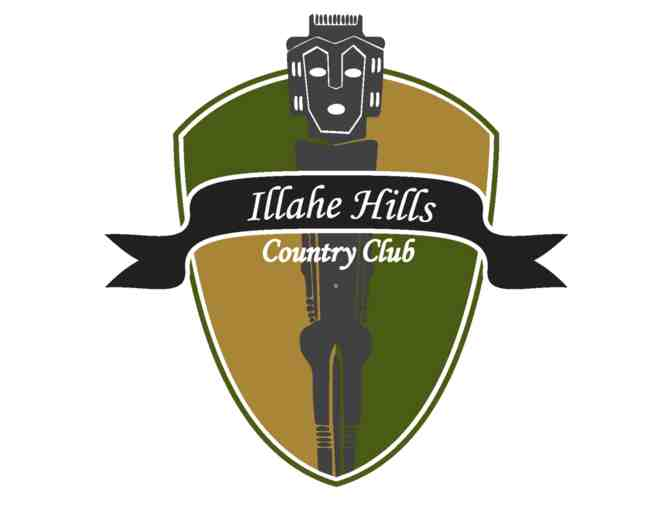 Illahe Hills Country Club - One foursome with carts