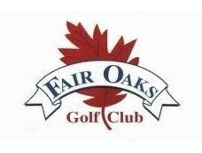 Fair Oaks Golf Club - One foursome with carts