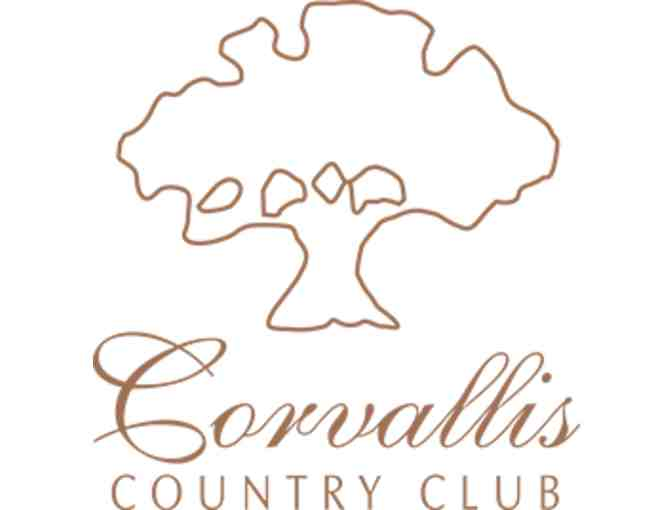 Corvallis Country Club - One foursome with carts