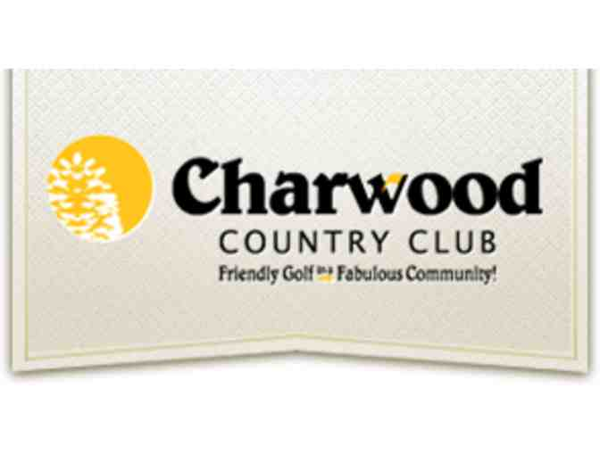 Charwood Country Club - One twosome with carts