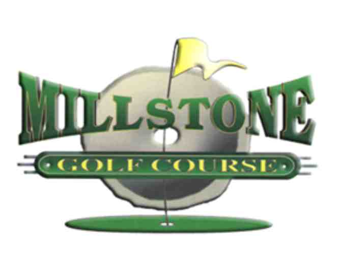 Millstone Golf Course - a foursome with carts