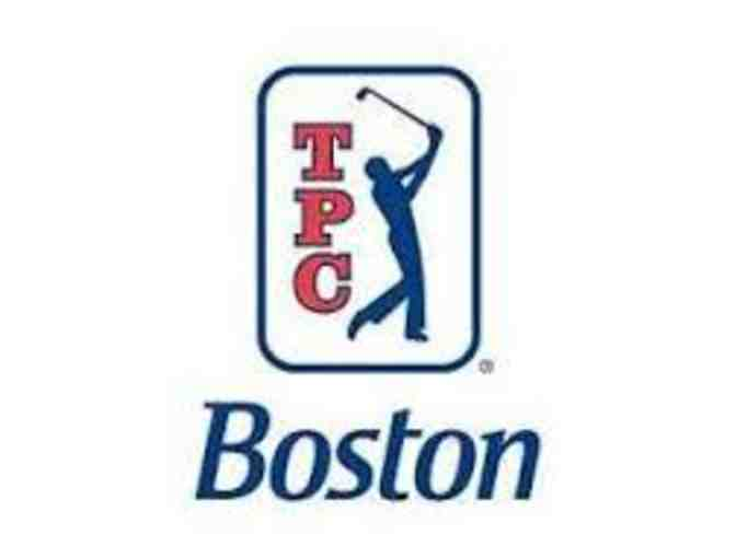 TPC Boston - One foursome with carts
