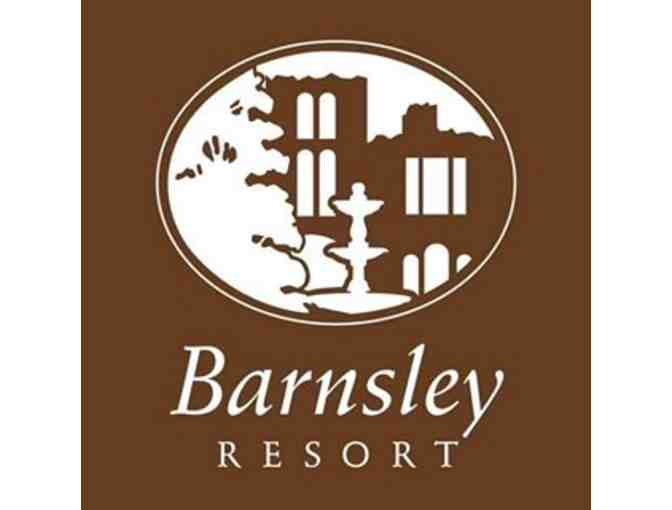 Barnsley Resort - A foursome with carts