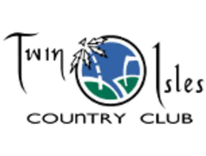 Twin Isles Country Club - One foursome with carts