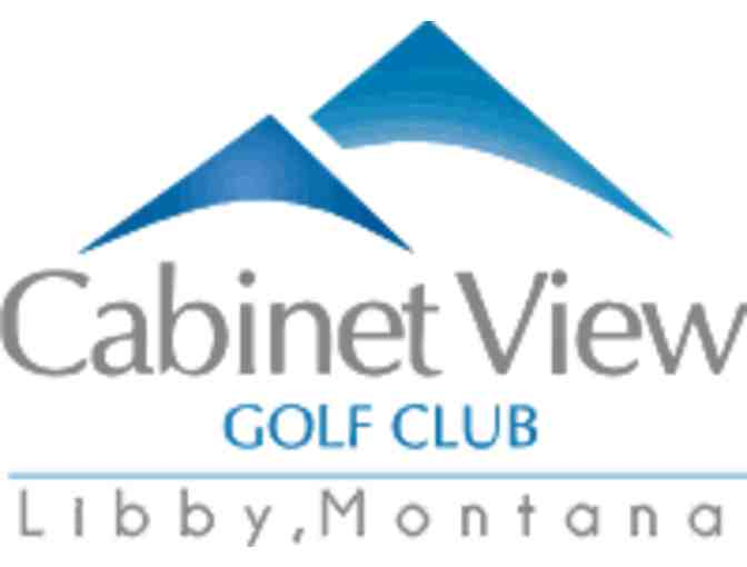 Cabinet View Golf Club - One twosome with cart