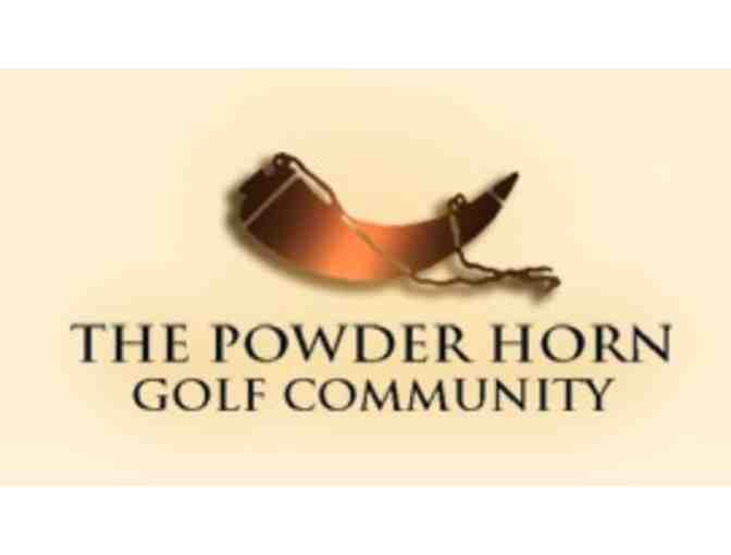 The Powder Horn - One foursome with carts