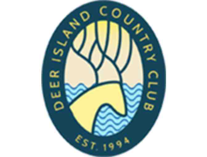 Deer Island Country Club - One foursome with carts