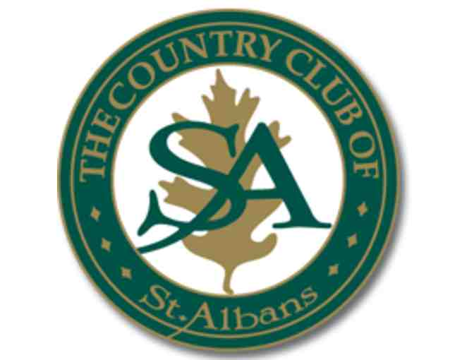 The Country Club of St. Albans - A foursome with carts