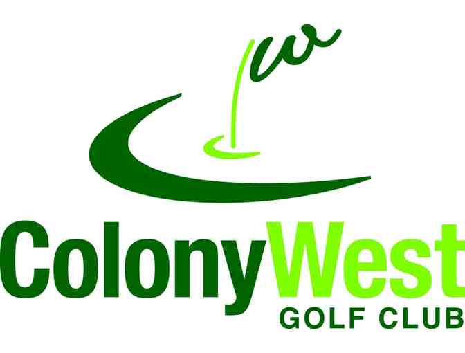 Colony West Golf Club - One foursome with carts