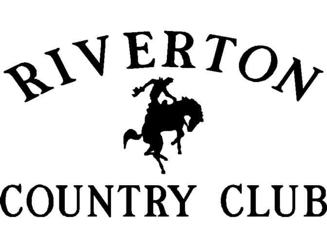 Riverton Country Club - One foursome with carts