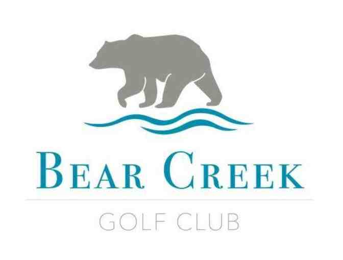 Bear Creek Golf Club - One foursome with carts